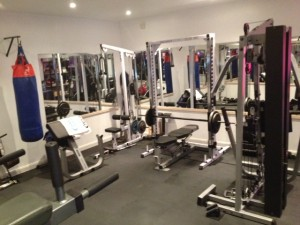 Private Peronal Training's Gym