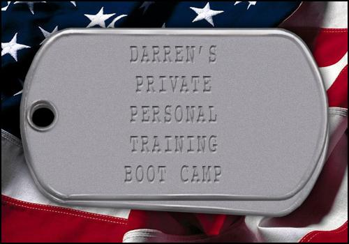 Contact Darren About Boot Camps